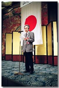 山桜会創始者片桐校長先生のご子息片桐昭氏に感謝、感謝