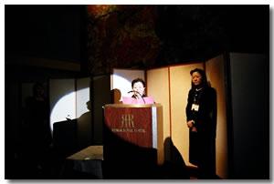 山桜会90年に亘る歴史のナレーション