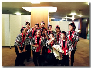 これからの山桜会を支えていく今一番若い山桜会会員です。