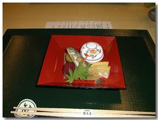 美しいマナーと京料理