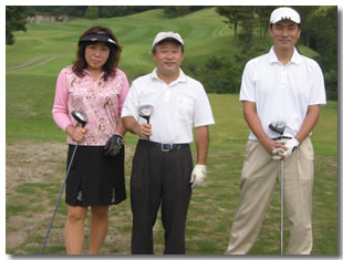 会長9月の挨拶 盛況でした。山桜会チャリティゴルフコンペ