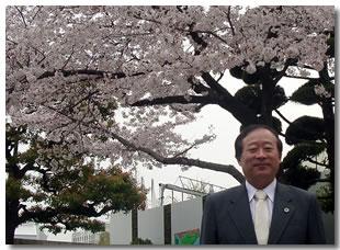 会長4月の挨拶 入学式に参列して