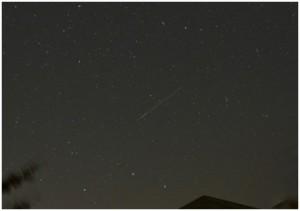 ペルセウス座流星群 8月13日
